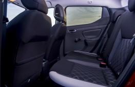Nissan Micra, 2017, rear seats
