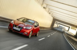 Nissan Micra, Xtronic, 2019, front, action