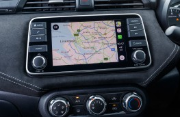 Nissan Micra N-Sport, 2019, display screen