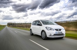 SEAT Mii Electric, 2021, front, action