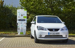 SEAT Mii at charging point