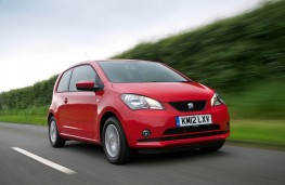 SEAT Mii, front, action