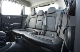 MINI Cooper SD 5-door, rear seats