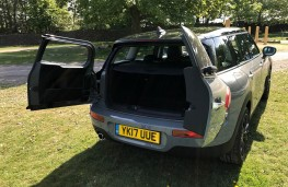 MINI Cooper Clubman Black Pack, 2017, boot