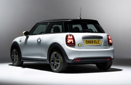 MINI Electric rear threequarters