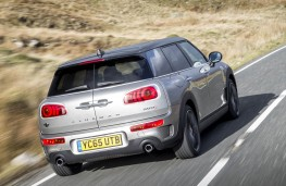 MINI Clubman, rear action