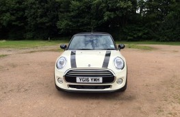 MINI Cooper Convertible, front