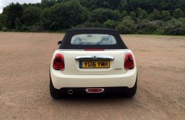 MINI Cooper Convertible, rear