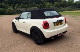 MINI Cooper Convertible, rear, roof up