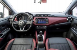 Nissan Micra 1.0, 2017, interior