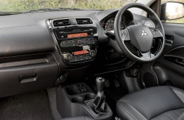Mitsubishi Mirage, interior