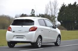 Mitsubishi Mirage, rear
