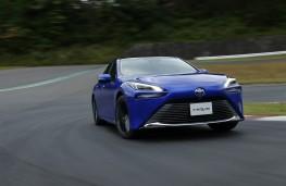 Toyota Mirai, 2020, front, action