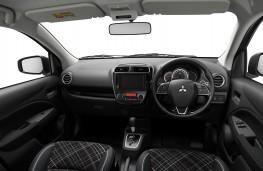 Mitsubishi Mirage, 2019, interior