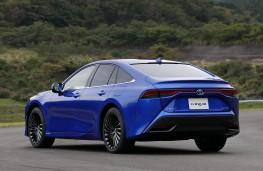Toyota Mirai, 2020, rear