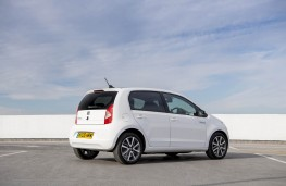 SEAT Mii Electric, 2021, rear, static