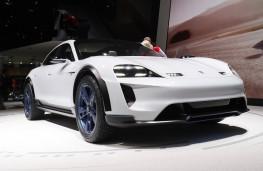Porsche Mission E, Geneva Motor Show 2018
