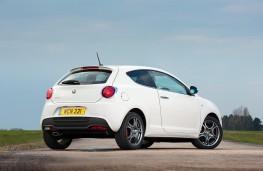Alfa Romeo MiTo, rear