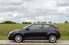 Alfa Romeo MiTo TwinAir, side, static