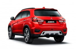 Mitsubishi ASX 2020 rear static