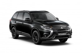 Mitsubishi Outlander Black Edition Front