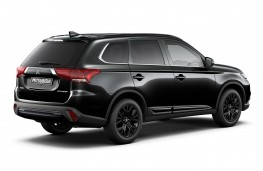 Mitsubishi Outlander Black Edition Rear