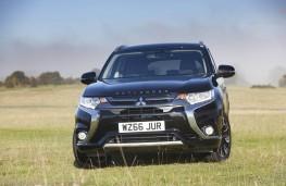 Mitsubishi Outlander PHEV, front