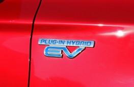 Mitsubishi Outlander PHEV, exterior, detail