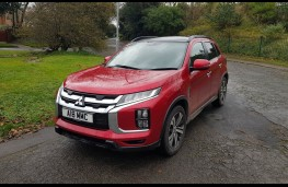 Mitsubishi ASX 2.0 Exceed 4WD, front