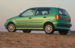 Volkswagen Polo Mk 3, 1995-2000, rear