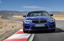 BMW M5, 2017, head on