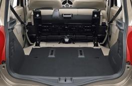 Renault Modus, boot