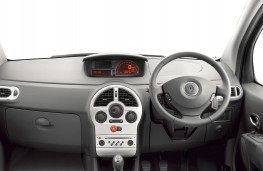 Renault Modus, interior