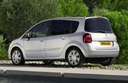 Renault Modus, rear