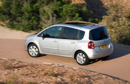 Renault Modus, side