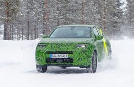 Vauxhall Mokka, 2020, Arctic testing, front