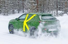 Vauxhall Mokka, 2020, Arctic testing, rear