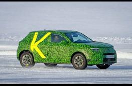 Vauxhall Mokka, 2020, Arctic testing, side