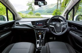 Vauxhall Mokka X, 2016, dashboard
