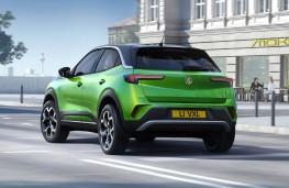 Vauxhall Mokka-e, 2020, rear