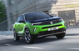 Vauxhall Mokka-e, 2020, front