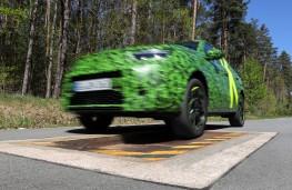 Vauxhall Mokka, 2020, testing, jump