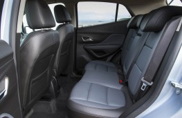 Vauxhall Mokka, rear seats