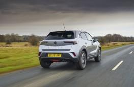 Vauxhall Mokka, 2021, rear