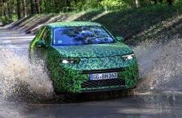 Vauxhall Mokka, 2020, testing, water