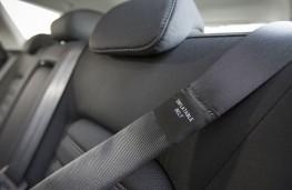 Ford Mondeo hatchback, inflatable rear seatbelt