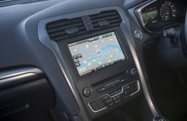 Ford Mondeo hatchback, sat nav