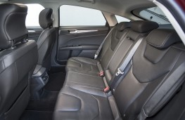 Ford Mondeo hatchback, rear seats