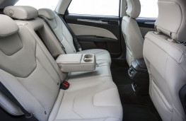 Ford Mondeo Estate, rear seats