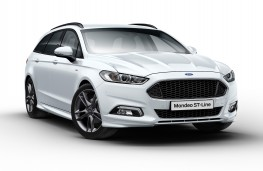Ford Mondeo ST-Line Estate, 2017, front